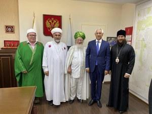 В мире и согласии. В Магнитогорске состоялась встреча с Верховным Муфтием России.