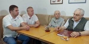 Встреча в преддверии Дня металлурга.